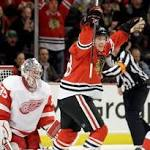 Chicago 4, Detroit 1: Johan Franzen says Red Wings 'need to believe in ...