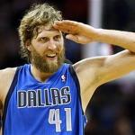 Dirk Nowitzki becomes latest to score 25000 points