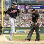 Indians tee off on Justin Verlander, sweep Tigers for third time this season