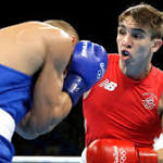 Michael Conlan debuts with knockout of Tim Ibarra in third round