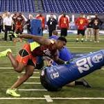 NFL combine gives hopefuls chance to show their stuff