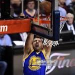 Warriors' playoff run builds a father-son bond