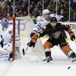 Ducks Score Twice On Same Shift Vs. Maple Leafs; Goal Awarded To Atlanta ...