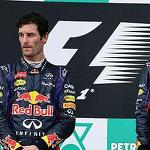 Red Bull's Sebastian Vettel and Mark Webber descend into F1 civil war