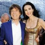 Rolling Stones support Mick Jagger after L'Wren Scott's death