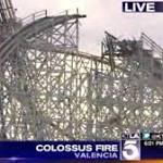 Internet on Fire With Video After Magic Mountain's Colossus Collapses