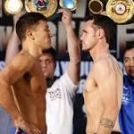 Golovkin, Geale, Jennings, Perez weigh-in at Madison Square Garden