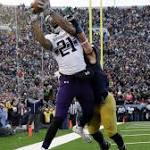 Northwestern Rallies to Beat No. 15 Irish 43-40