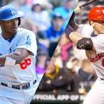 What's wrong with the Cardinals and Dodgers so far?