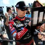 Harvick maintains blistering speed in Saturday's first practice