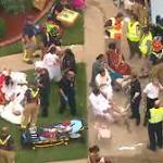 Roof collapse during 'celebration' at Texas home hospitalizes 30: authorities