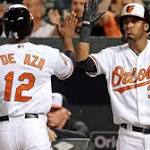 Rain and the Baltimore Orioles rock the yard
