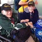 Dying wish: Veteran honored, reunited with brother
