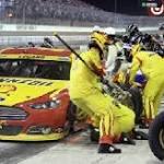 Catastrophe on pit road ruins Logano's championship run