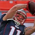 Edelman returns as Pats work on WR position