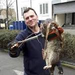 Was the '4ft monster rat' in Hackney just a trick of perspective?