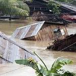 45 dead, more than 260000 displaced in Philippines flooding