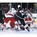 Pearson ends drought as Kings top Hurricanes