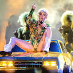 Miley Cyrus' big bang hits Anaheim, heads to LA