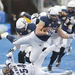 Stein, Brown lead Akron past Utah State in Potato Bowl