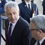 Hagel ouster highlights power shift