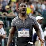 Gatlin, Lagat bull their way into Olympics