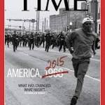 Time's Baltimore-themed cover asks how much has changed since 1968