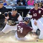 Post-game at TD Ameritrade Park - Mississippi State 5, Oregon State 4 ...
