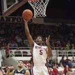 Chasson Randle was Stanford's only player in double figures. Photo: Ed ...