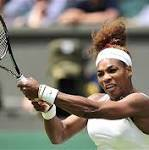 Serena's take: Relieved to be past first-round jitters