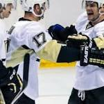 Lapierre settling in with Penguins after trade from Blues
