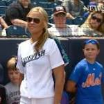 Guest manager Jennie Finch leads Bridgeport Bluefish to win