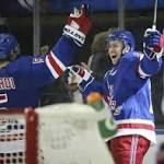 Derek Stepan scores twice to rally Rangers past Blue Jackets in overtime