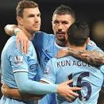 Aguero On Mark As City March Forward