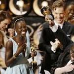 Oscars: Slave and Gravity share Academy spoils