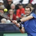 Andy Murray and James Ward put GB on the brink of victory