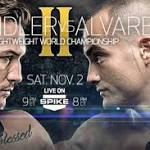 Bellator 106 lightweight title showdown between Chandler and Alvarez could ...