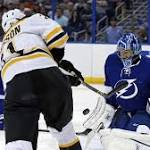 Bruins' Losing Skid Reaches Five Games With 5-3 Loss To Lightning