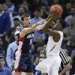 No. 23 Gonzaga blows lead, loses to No. 24 Memphis