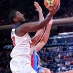 USA Basketball routs Dominican Republic in Derrick Rose's absence