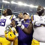 LSU holds off TCU in Cowboy Classic, 37-27