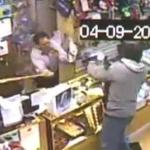 Shop owner with baseball bat defeats gun-toting bandits