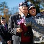 Veterans Day Parade honors WWII vets
