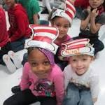 'It's great to be a kid on Dr. Seuss' birthday'