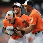 Wieter's single in the 10th leads Orioles over White Sox