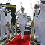 Navy officer in Conn. facing expulsion over affair