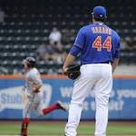 Nationals sweep as Aaron Harang loses Mets debut