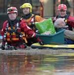 Storm Desmond: David Cameron to chair emergency meeting as thousands still ...