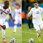 Costa Rica v England, World Cup 2014: as it happened