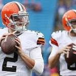 Johnny Manziel or Brian Hoyer? Browns now face a huge decision